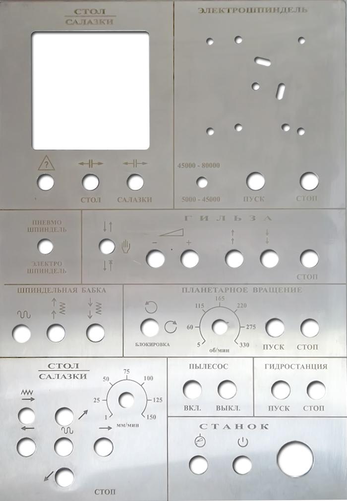 Галерея маркировка оборудования